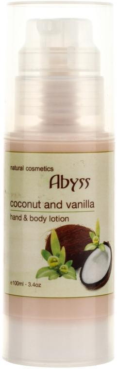 Питательный лосьон для тела с кокосом и ванилью - Spa Abyss Coconut & Vanilla Body Lotion