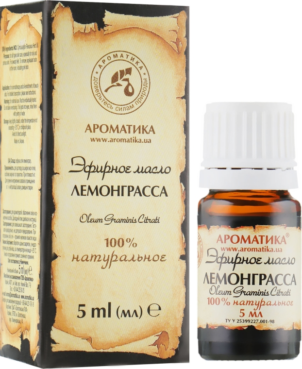 """Эфирное масло """"Лемонграсса"""" - Ароматика"""