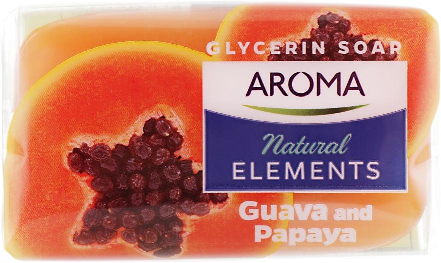 "Туалетное мыло ""Гуава и папайя"" - Aroma Natural Elements Toilet Soap Guava & Papaya"