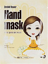 Тканевая маска для рук - The Orchid Skin Orchid Flower Hand Mask Sheet — фото N1