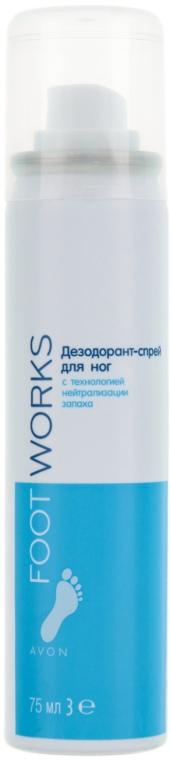 Дезодорант-спрей для нейтрализации неприятного запаха ног - Avon Healthy Odour Deodorising Foot Spray