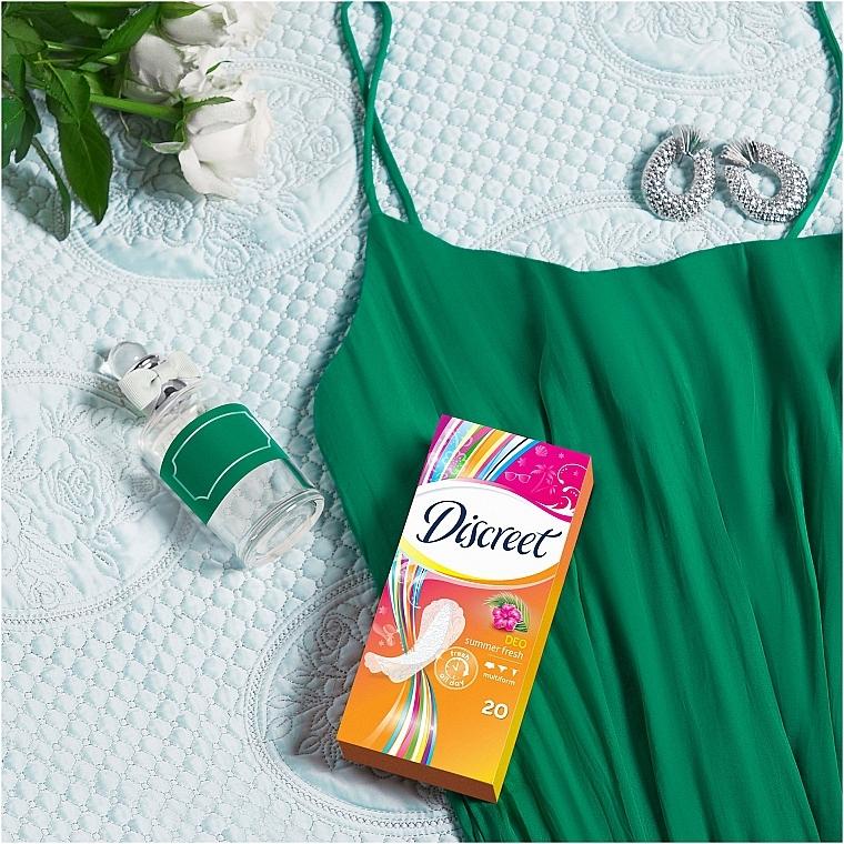 Ежедневные гигиенические прокладки Summer Fresh, 60 шт - Discreet — фото N7