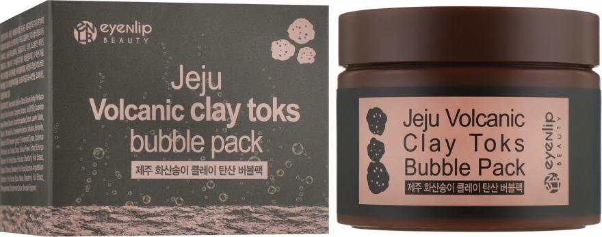 Пенящаяся маска с вулканической глиной - Eyenlip Jeju Volcanic Clay Toks Bubble Pack