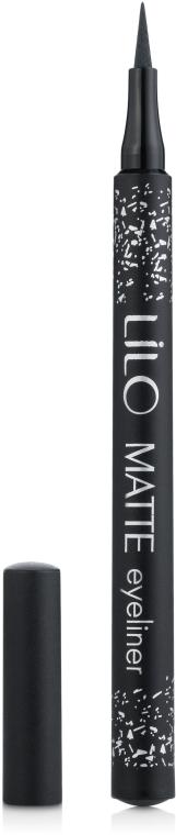 Подводка-фломастер для глаз - Lilo Matte Liner — фото N1
