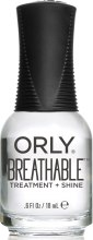 Духи, Парфюмерия, косметика Прозрачный блеск-уход для ультраглянца - Orly Breathable Treatment Plus Shine