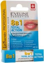Духи, Парфюмерия, косметика Концентрованая сыворотка для губ - Eveline Cosmetics Lip Therapy Professional Action Totale 8w1