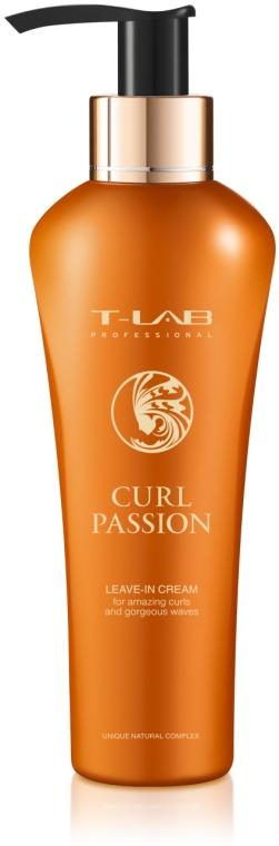 Несмываемый крем для потрясающих завитков и волн - T-LAB Professional Curl Passion Leave-in Cream