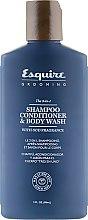 Духи, Парфюмерия, косметика Шампунь-гель для душа 3 в 1 для мужчин - CHI Esquire Grooming The 3 in 1 Shampoo Conditioner & Body Wash