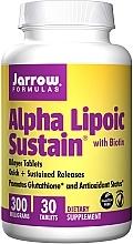 Духи, Парфюмерия, косметика Пищевые добавки - Jarrow Formulas Alpha Lipoic Sustain with Biotin 300 mg