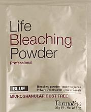 Духи, Парфюмерия, косметика Обесцвечивающая пудра - Farmavita Life Bleaching Powder Blue