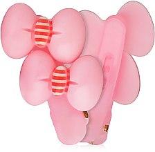 """Духи, Парфюмерия, косметика Заколка-лапка """"Два бантика"""", розовая, d-135 - Dini Kids"""