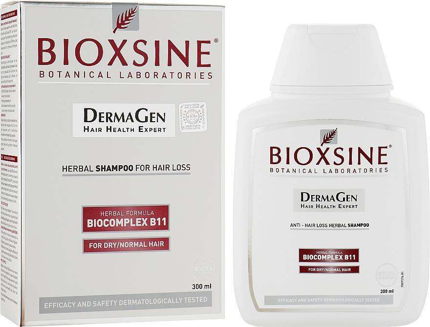 Шампунь растительный, против выпадения для нормальных и сухих волос - Biota Bioxsine Shampoo