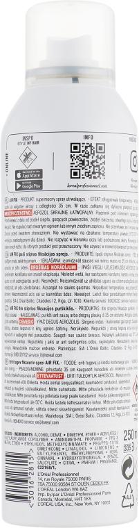Лак для объема суперсильной фиксации - L'Oreal Professionnel Tecni.art Full Volume Extra — фото N2