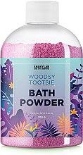 Духи, Парфюмерия, косметика Пудра для ванны «Woodsy Tootsie» - SHAKYLAB Magic Bath Powder