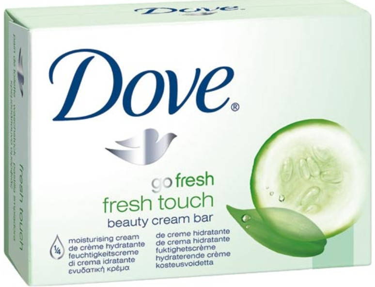 Крем-мыло для тела - Dove Go Fresh Fresh Touch Cream Bar With Cucumber & Green Tea Scent