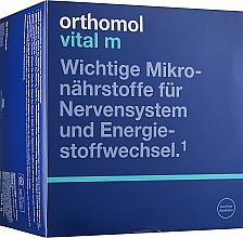 Духи, Парфюмерия, косметика Витамины гранулы + капсулы + таблетки (30 дней) - Orthomol Vital M