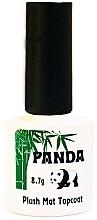 Духи, Парфюмерия, косметика Матовый (плюшевый) топ для гель-лаков с липким слоем - Panda Wipe Matte Top Coat