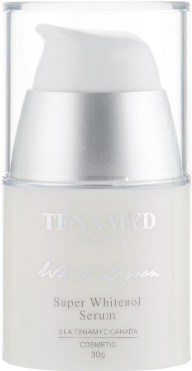 Супер отбеливающая сыворотка для кожи с пигментацией - Tenamyd Canada White Lagoon Super Whitenol Serum — фото N2
