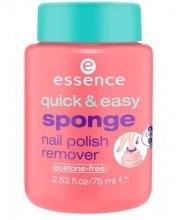 Духи, Парфюмерия, косметика Спонж для снятия лака - Essence Quick Easy Sponge Nail Polish Remover
