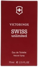 Духи, Парфюмерия, косметика Victorinox Swiss Army Swiss Unlimited - Туалетная вода (тестер в коробке)