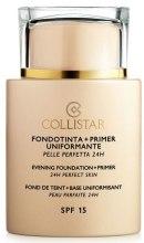 Парфумерія, косметика Основа під макіяж - Collistar Foundation Primer Perfect Skin Smoothing 24H SPF15