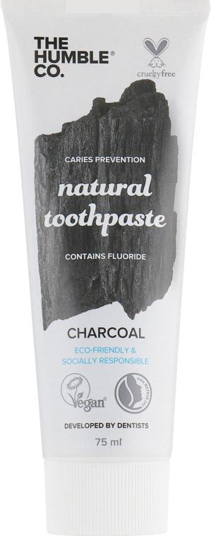 "Натуральная зубная паста ""Отбеливающая с древесным углем"" - The Humble Co. Natural Toothpaste Charcoal"
