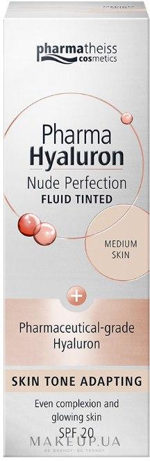 Тонирующий флюид - Pharma Hyaluron Nude Perfection SPF 20 — фото Medium