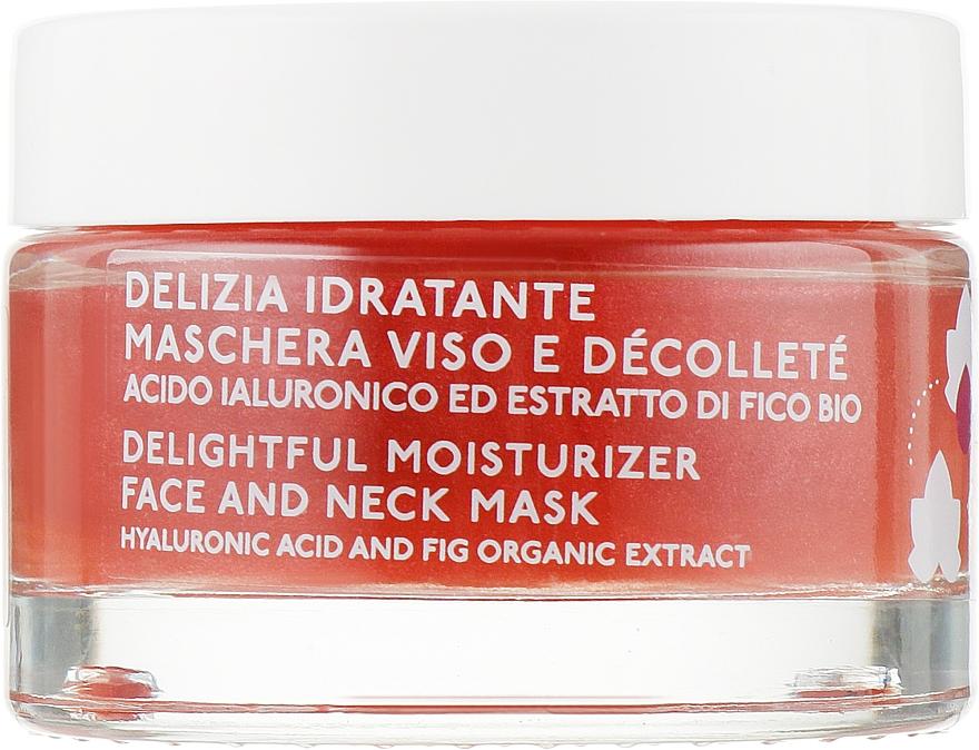 Увлажняющая маска для лица и шеи - Nature's Fico Delizia Idratante Maschera