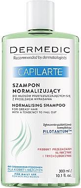 Шампунь нормализующий для жирных волос - Dermedic Capilarte Normalising Shampoo