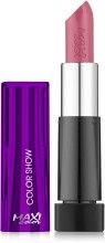 Духи, Парфюмерия, косметика Помада для губ - Maxi Color Color Matt Lipstick