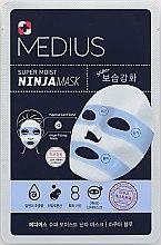 Духи, Парфюмерия, косметика Маска для лица увлажняющая - Medius Super Moist NINJA Mask Aqua Blue
