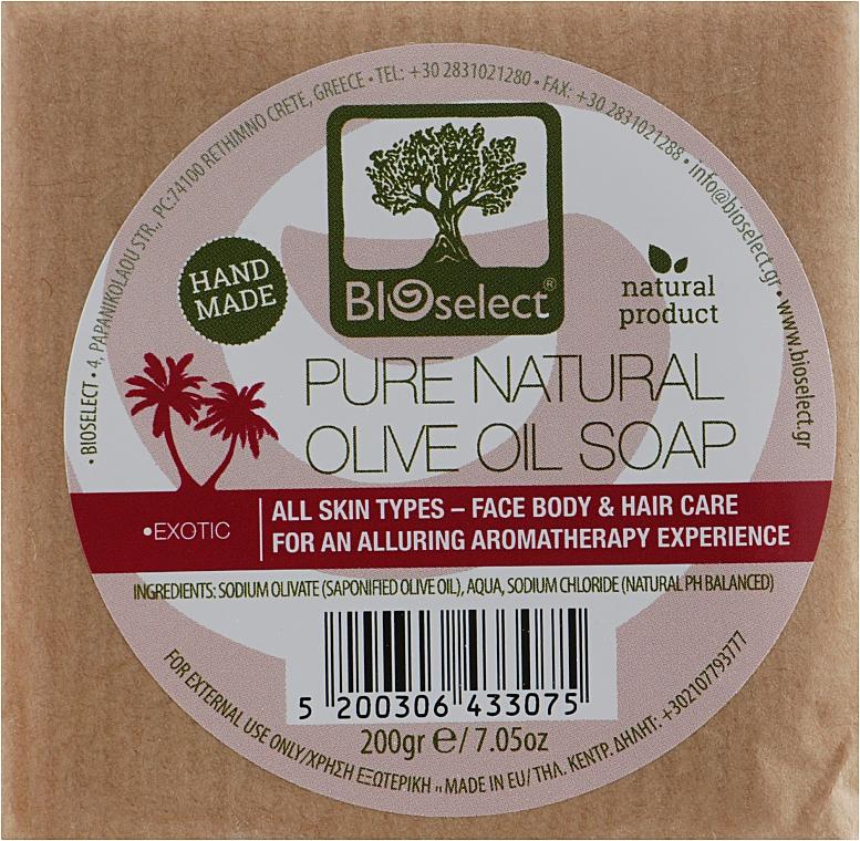 Натуральное мыло с оливковым маслом и ароматом дыни, жасмина и бергамота - BIOselect Olive Oil Soap