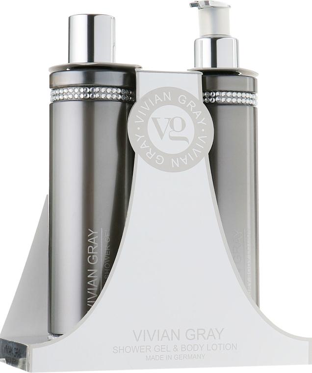 Набор - Vivian Gray Grey Crystal (sh/gel/250ml + b/lot/250ml)