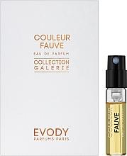 Духи, Парфюмерия, косметика Evody Parfums Couleur Fauve - Парфюмированная вода (пробник)