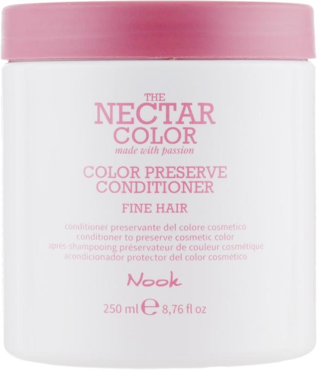 """Кондиционер """"Стойкость цвета"""" для тонких и нормальных волос - Nook The Nectar Color Color Preserve Conditioner"""
