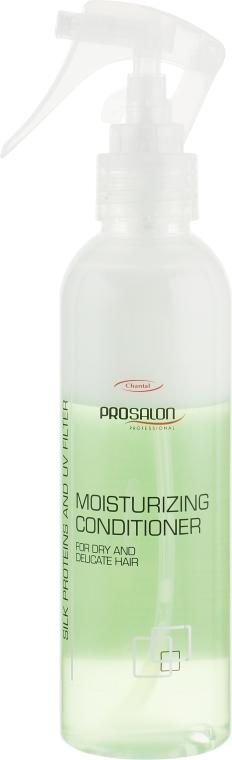 Двухфазный увлажняющий спрей-кондиционер с провитамином B5 - Prosalon Hair Care Conditioner