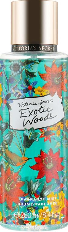 Парфюмированный спрей для тела - Victoria's Secret Exotic Wood Fragrance Body Mist
