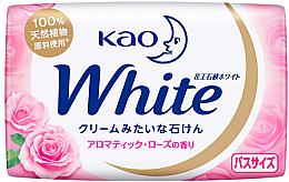Духи, Парфюмерия, косметика Увлажняющее крем-мыло для тела с ароматом розы - Kao White Cream Soap
