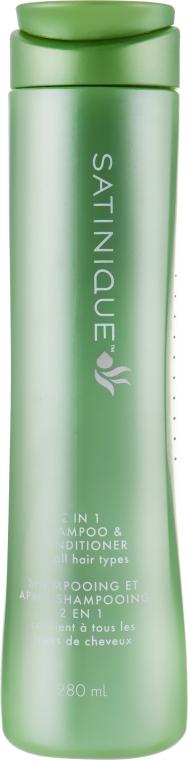 Шампунь-кондиционер 2-в-1 - Amway Satinique 2 in 1 Shampoo & Conditioner