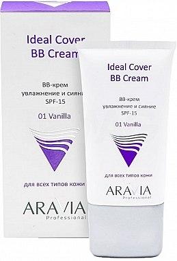 Увлажняющий BB-крем SPF-15 - Aravia Professional BB-Cream Ideal Cover