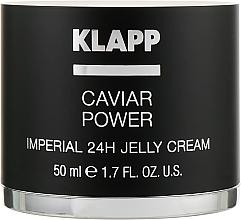 "Духи, Парфюмерия, косметика Крем-желе ""Энергия икры Империал"" - Klapp Caviar Power Imperial 24H Jelly Cream"