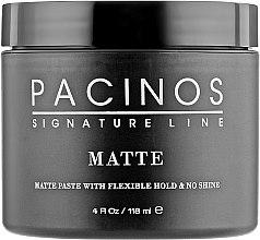 Парфумерія, косметика Матова паста для укладання волосся - Pacinos Matte Paste