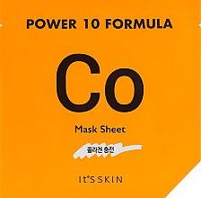 Духи, Парфюмерия, косметика Тканевая маска, коллагеновая - It's Skin Power 10 Formula Mask Sheet CO