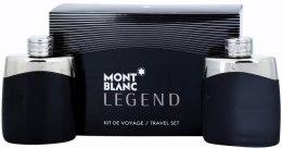 Духи, Парфюмерия, косметика Montblanc Legend - Набор (edt/100ml + ash/100ml)