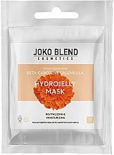 Духи, Парфюмерия, косметика Маска гидрогелевая для лица - Joko Blend Beta-Carotene Calendula Hydrojelly Mask