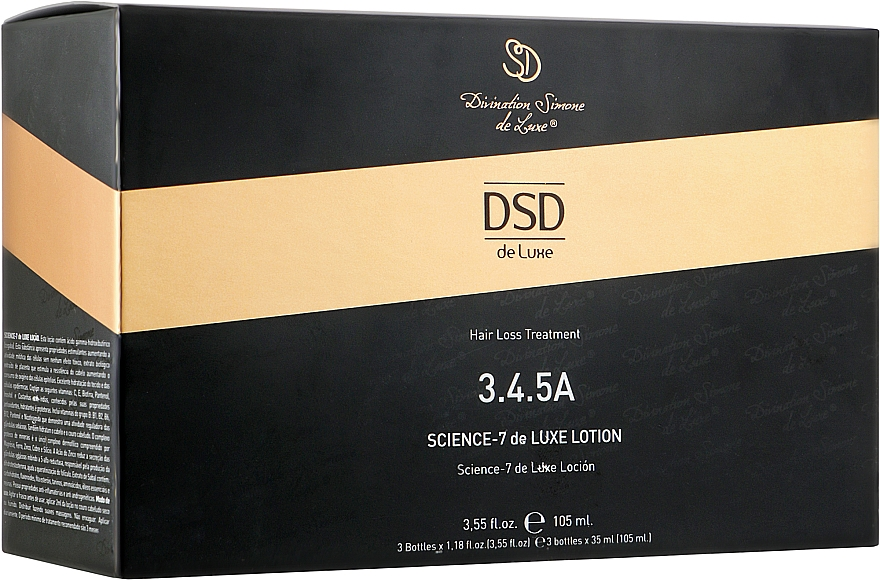 Лосьон Сайенс-7 Де Люкс № 3.4.5 А - Simone DSD De Luxe Science-7 DeLuxe Lotion