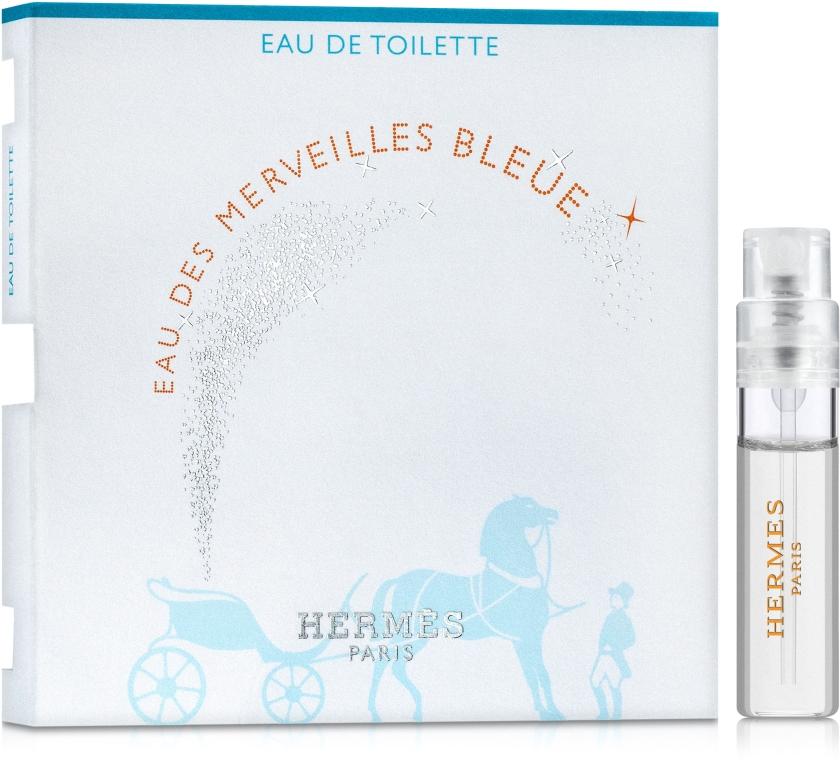 Hermes Eau des Merveilles Bleue - Туалетная вода (пробник)