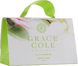 Духи, Парфюмерия, косметика Набор - Grace Cole Gentle Soap Lily & Verbena (soap/2х75g)