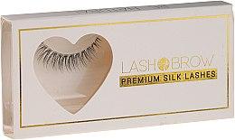 Духи, Парфюмерия, косметика Накладные ресницы - Lash Brown Premium Silk Lashes Be Natural