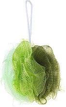 Духи, Парфюмерия, косметика Мочалка банная 30352, зеленая - Top Choice